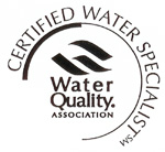 Water Quality Association Certified Water Specialist logo